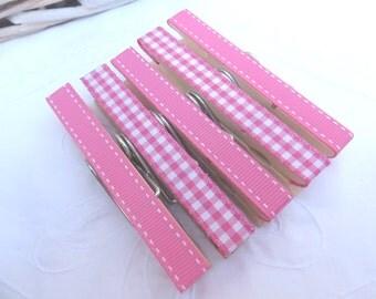 Hot pink magnetic peg gift set