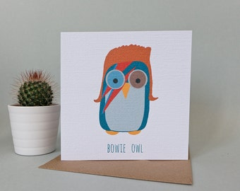David Bowie Greetings Card