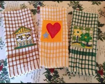 Vintage ITALIAN Tea Towels