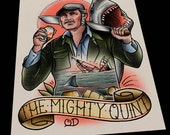 The Mighty Quint Tattoo Print