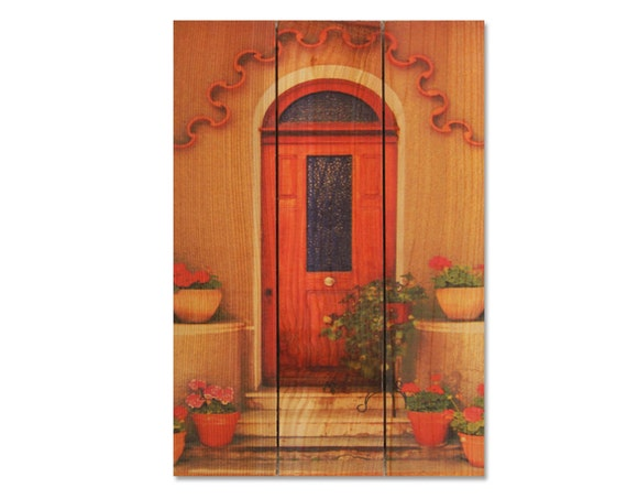 16x24 French Door, Wooden Wall Art, Home Decor, Wall Hanging, European Style, Inside or Outside Art (TD1624)