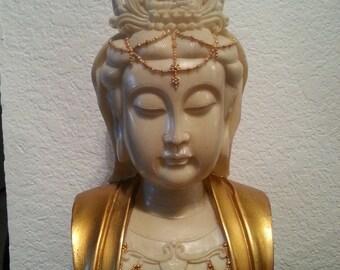 Woman Buddha Figurine