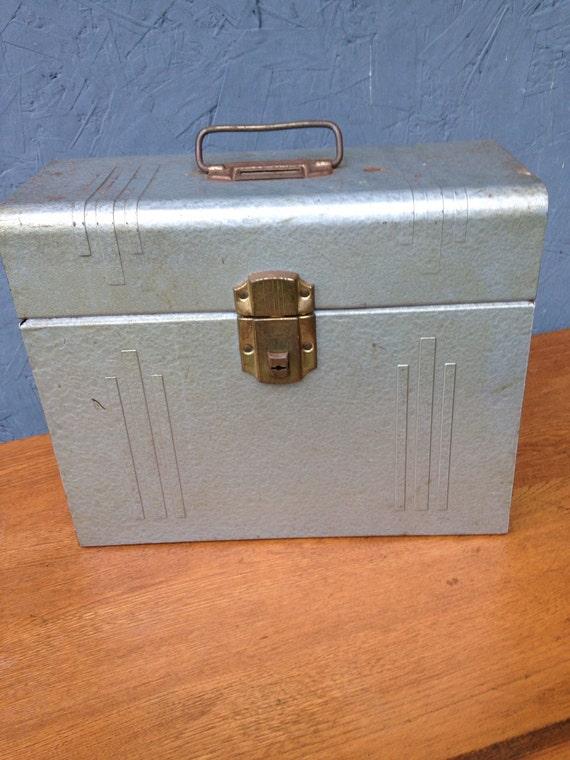 Vintage art deco industrial file box - Deco vintage industriel ...