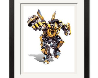 Transformers Autobot Bumblebee Poster Print 0060