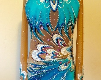 Professional Competition Rhythmic Gymnastics Leotard- SOLD
