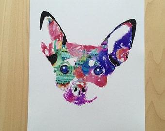 Chihuahua    Joaquin the Chihuahua    Dog Art    Chihuahua Art