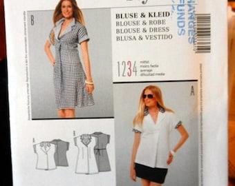 Burda 7361, multi-sized pattern 8 to 20
