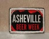 Asheville Beer Week Belt Buckle