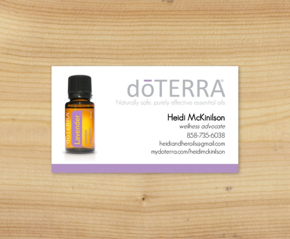 Items similar to single essential oil bottle business card