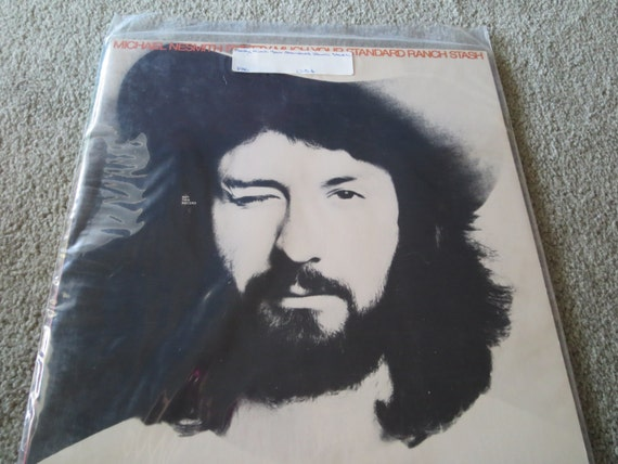 David Jones Personal Collection Record Album - Michael Nesmith - PAC - Pretty Much Your Standard Ranch Stash