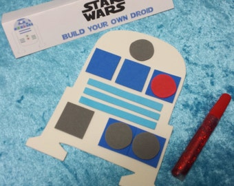 PARTY PACK Star Wars Build Your Own Droid Craft Kit