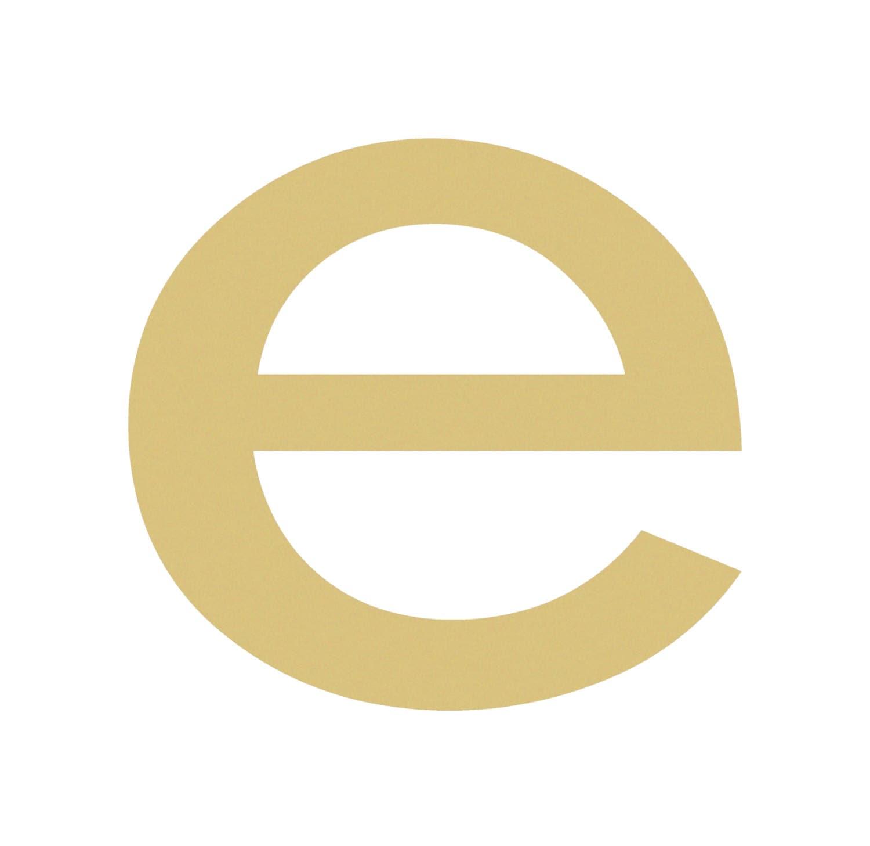 Lowercase E