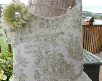 Mint Julep Toile handbag Purse