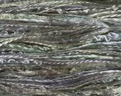 NEW COLOUR, Silk One Off, Hand Dyed Silk Thread Selection, Silk Thread Mix, No.85 Dried Hydrangea