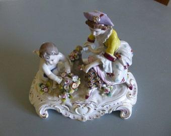 Porcelain figurine by Lugwigsburg