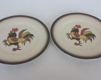 Metlox Poppytail Salad Plates - Set of 2