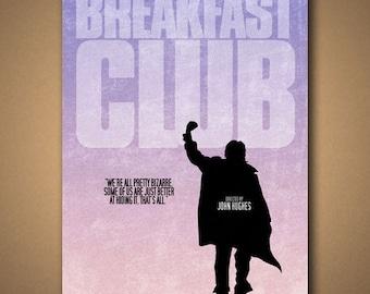 "The BREAKFAST CLUB: ""We're All Pretty Bizarre"" Movie Quote Poster"