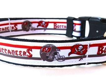 Tampa Bay Buccaneers Dog Collar