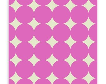 True Colors Mod Dot in Orchid by Heather Bailey for Free Spirit Fabrics TC014- Half Yard or By the Yard