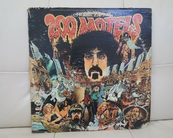 "Frank Zappa- ""200 Motels"" Original Motion Picture Soundtrack vinyl record"