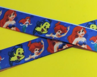 The Little Mermaid ribbon - 2 yards