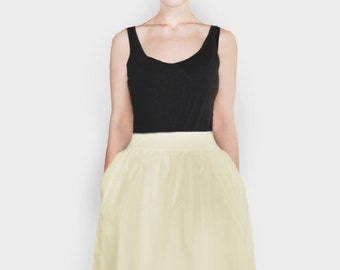S.A.M.M.Y yellow summer skirt