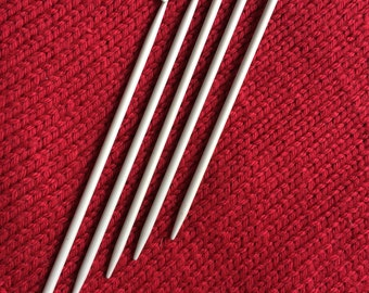 Knitting Needles with Hooks at the End - Traditional Portuguese Knitting