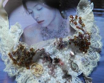 reverie necklace magical dreamlike silver moonstone
