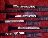 Pink Deluxe Hockey Stick Snow Brush with Ice Scraper