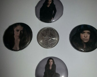 Sarah Orphan Black Buttons