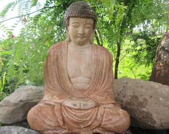 Half back Indian Buddha