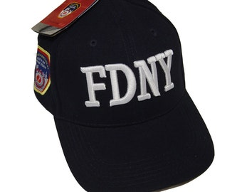 FDNY Hat Baseball Cap Officially Licensed Clothing Apparel By The New York City Police Department