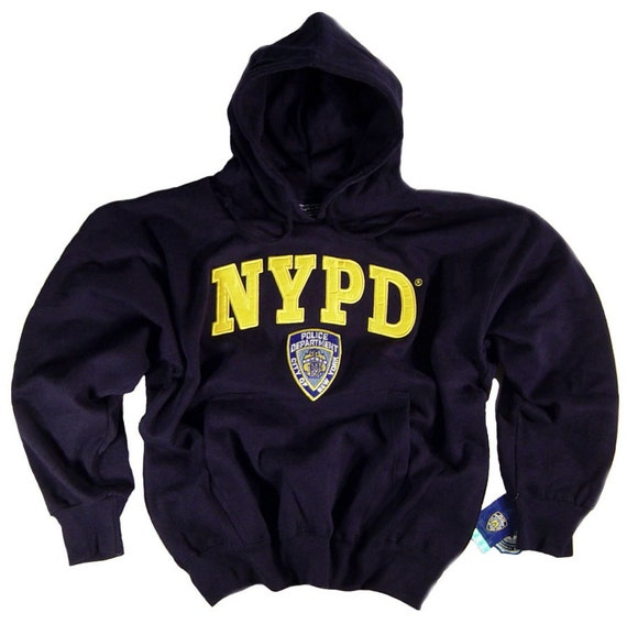 2017 New Brand Modal T Shirt Police Dept Design T Shirts: NYPD Sweat Shirt Hoodie Embroidered Officially Licensed