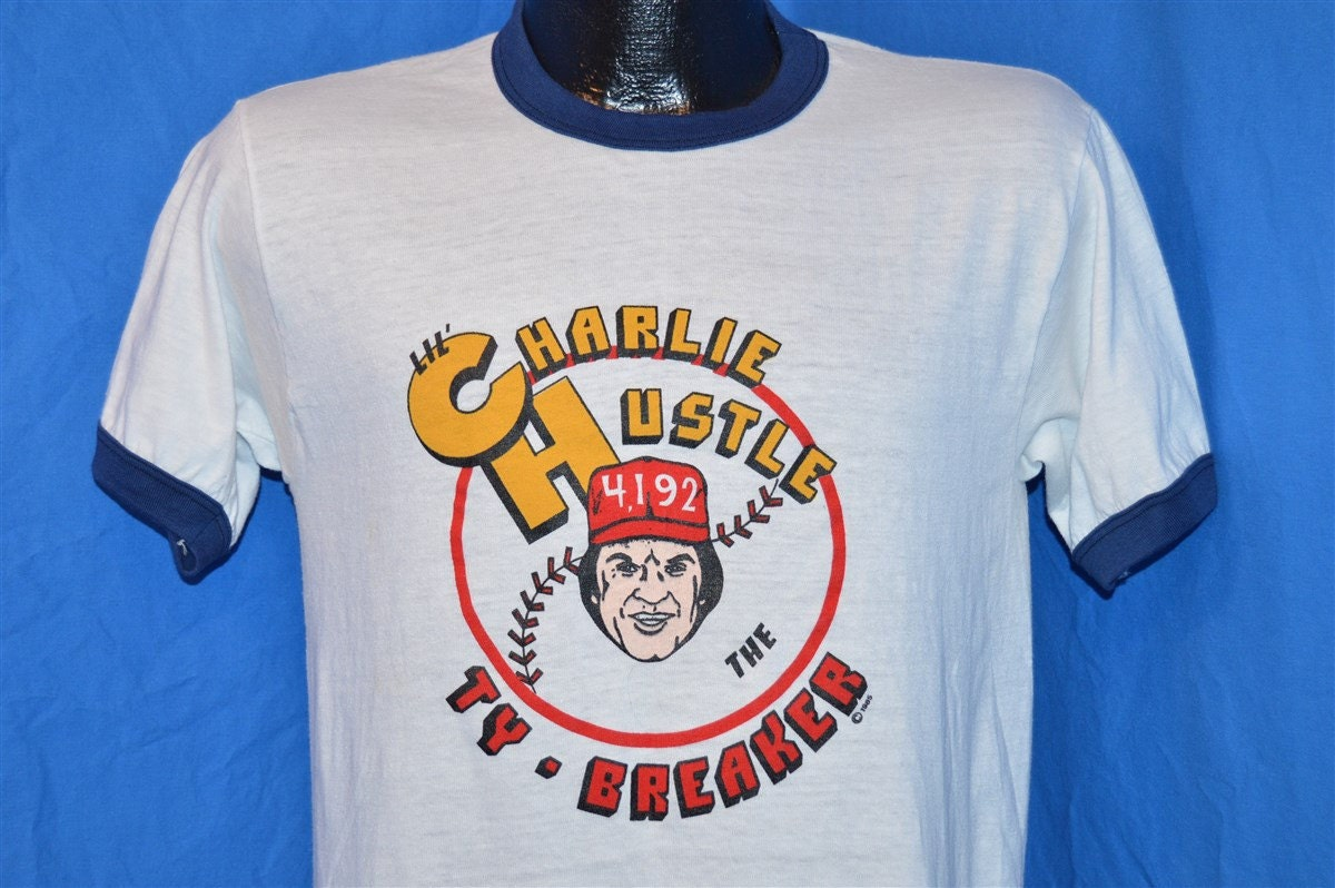 Pete Rose Poster 80s Pete Rose Lil' Charlie
