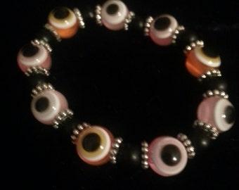EVIL EYE Bracelets 6 inch stretchy