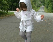 Chilly Cables Coatigan CHILD - PDF pattern ONLY - Winter, Fall, Snow, Cold, Sweater, Jacket, Coat, Cardigan, Child, Crochet