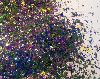 Under The Sea Glitter Mix- Solvent Resistant  - Nail Glitter - SAMPLE to 2 oz