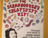 The Scrapbooker's Creativity Kit! by Claudine Hellmuth (brand new, never used, cards not open) (FREE Shipping)
