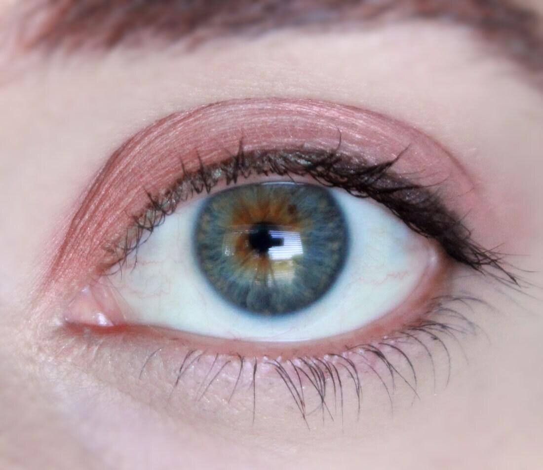 All Natural Makeup Blushy Rose Gold Eye Shadow Eye Makeup