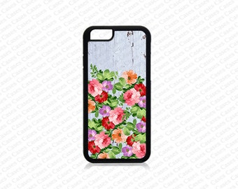 iPhone 6 Plus Case, iPhone 6 Case, iPhone 5s case, Iphone 5 Case,Floral Pattern on wood print iPhone SE Cover,iPhone SE Case, iPhone 5c Case