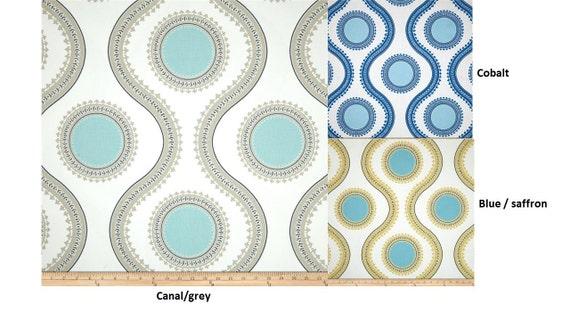 Panels drapes curtains 50x63 50x84 50x96 50x108 cobalt saffron yellow