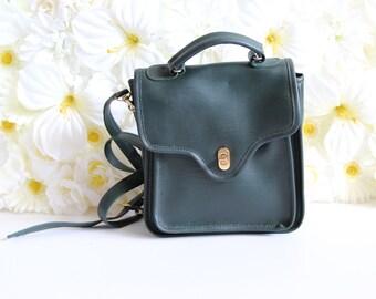 Vintage Green Emerald Shoulder Bag