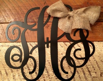 """20""""-24"""" Personalized Monograms All Occasions and Decor Hangers Free Shipping Included"""