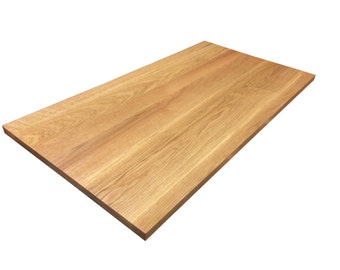White Oak Tabletop - Custom Sizes Available