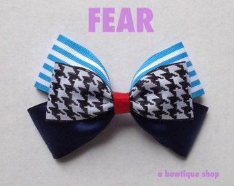 fear hair bow