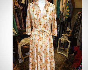 60's Patterned Dress