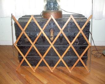 Vintage Wood Gate, Safety Gate, Child's Gate, Pet Gate, Door Gate, Wood Fence, Home Decor, Garden Decor