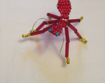 Beaded Red Ant