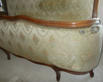 Demi Corbeille Vintage French Double Bed
