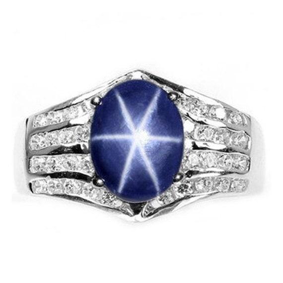 genuine star sapphire ring - photo #24